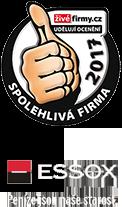 Živé firmy - spolehlivá firma 2017, ESSOX